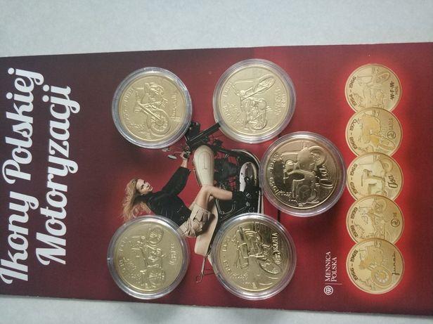 Kolekcja monet Ikony Polskiej Motoryzacji