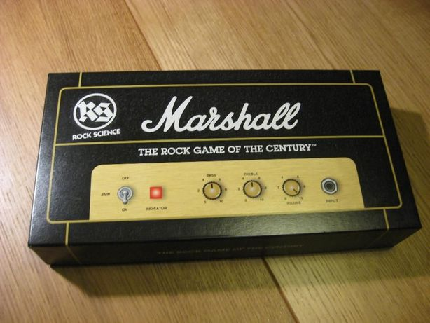 Marshall Rock Science Game