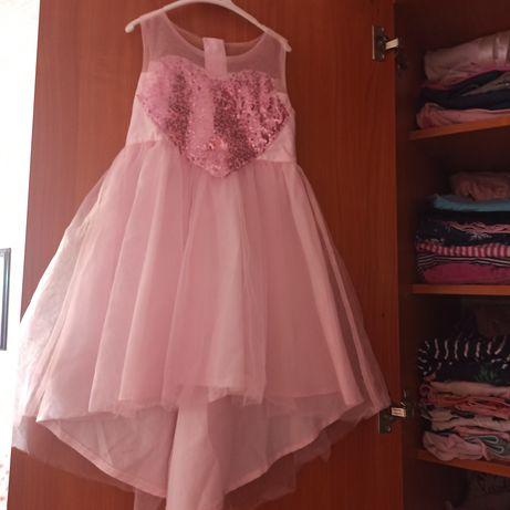 Платье для девочки фатин для праздника день рождения 2-3-4 года