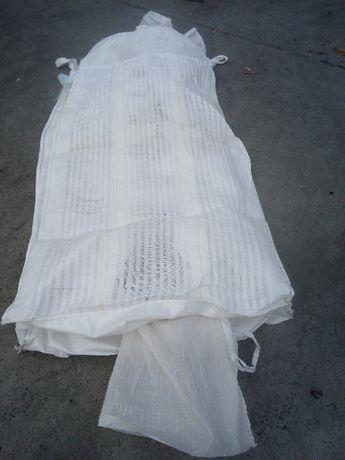 Worki Big Bag Wentylowane Białe Lub Czarne Czyste wysokość 180cm 200cm