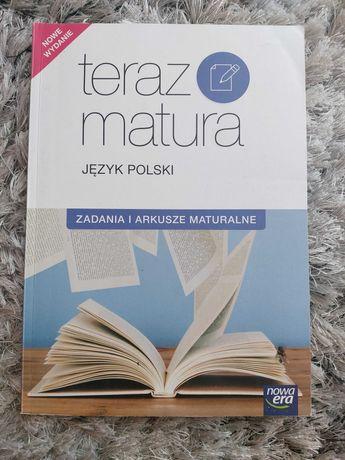 "Zadania i arkusze maturalne ,,Teraz matura"" język polski!"