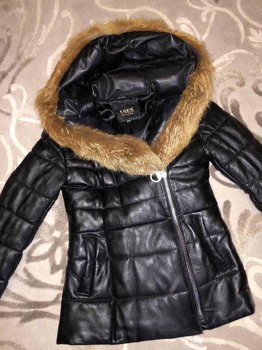 Зимняя куртка. Натуральная кожа Херсон - изображение 1