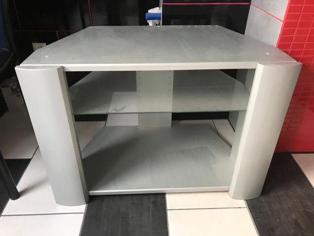Stolik pod telewizor , rtv , drewno , szkło