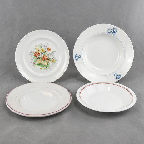 Conjunto de 4 pratos em Porcelana