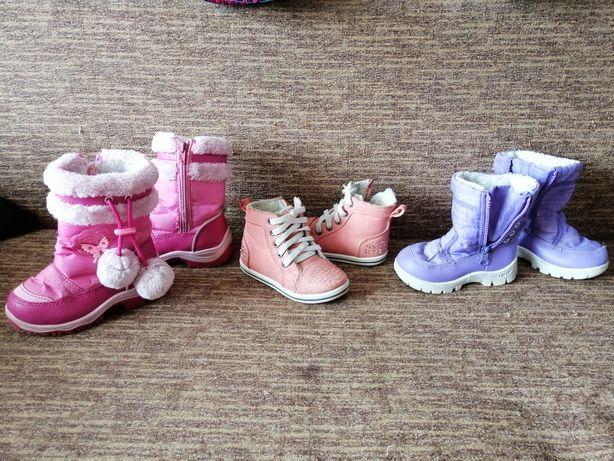Ботинки, сапожки р. 24,25