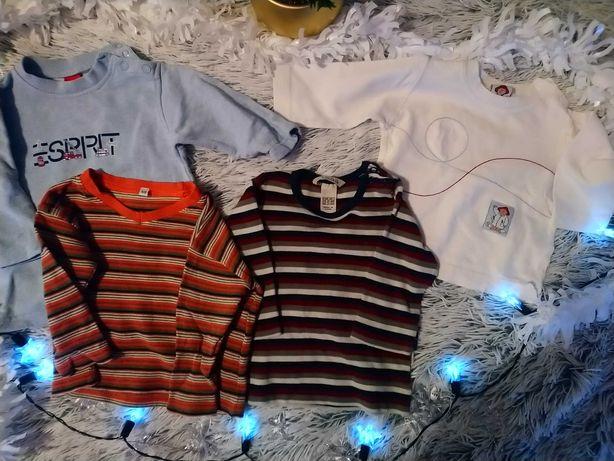 Zestaw 4 bluzeczek dla niemowląt rozmiar 68 H&M Esprit