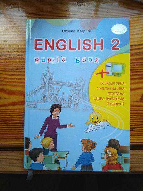 Продам книгу з англійської мови 2клас