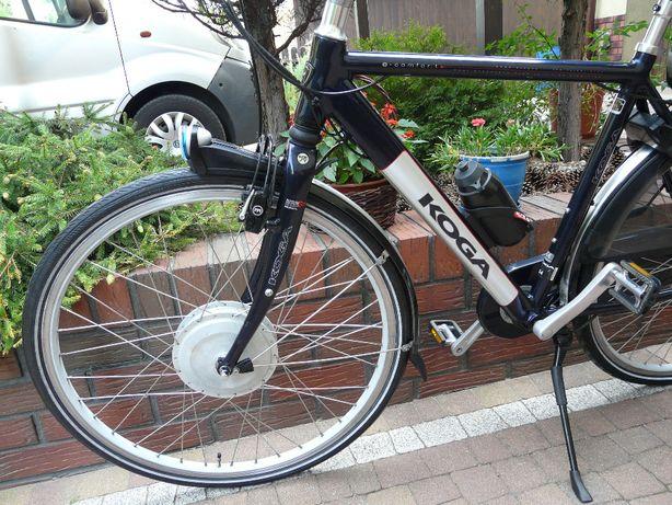 Rower elektryczny KOGA e-comfort - Holender ciekawy, ładny,zadbany