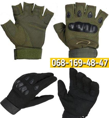 Тактические военные перчатки Oakley, 2 размера (L|XL), олива и черный