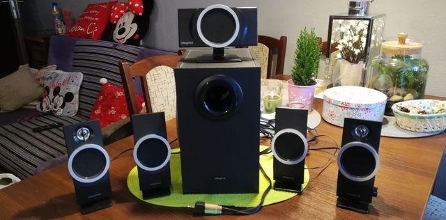 Głośniki 5.1 Creativa Inspire T 6100