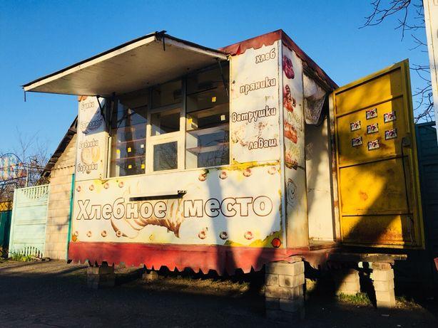 Торговый прицеп киоск на колёсах ДОСТАВКА Купава ларёк трейлер контейн