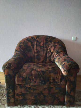 Кресло Словакия дерево, велюр