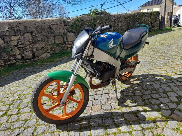 Honda nsr 50cc para peças  aceito troca por sccoter com dcmt