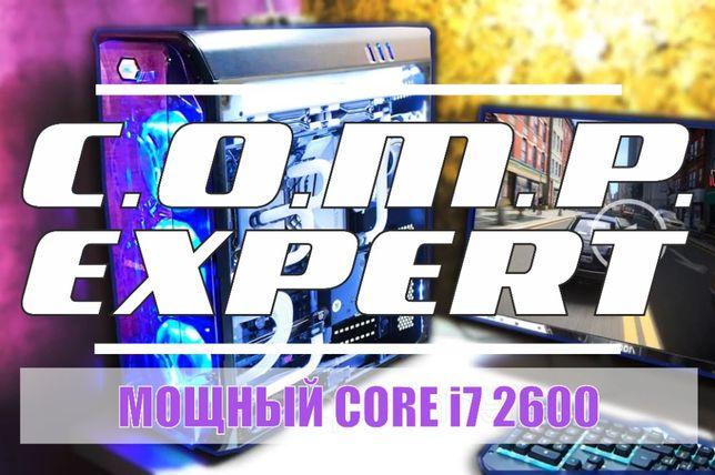Core i7 2600 системный блок ПК игровой компьютер GTX 1060/1050/1650