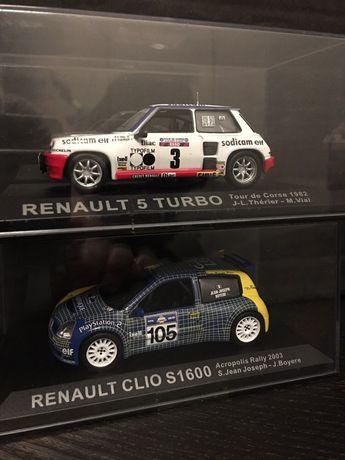Ixo Altaya 1:43 Renault 5 Turbo/Renault Clio S1600