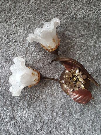 Kinkiet dwa kwiaty