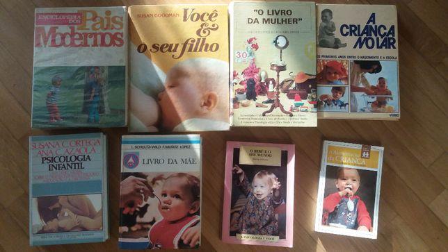 Livros Puericultura - Pais -Crianças - Psicologia infantil-