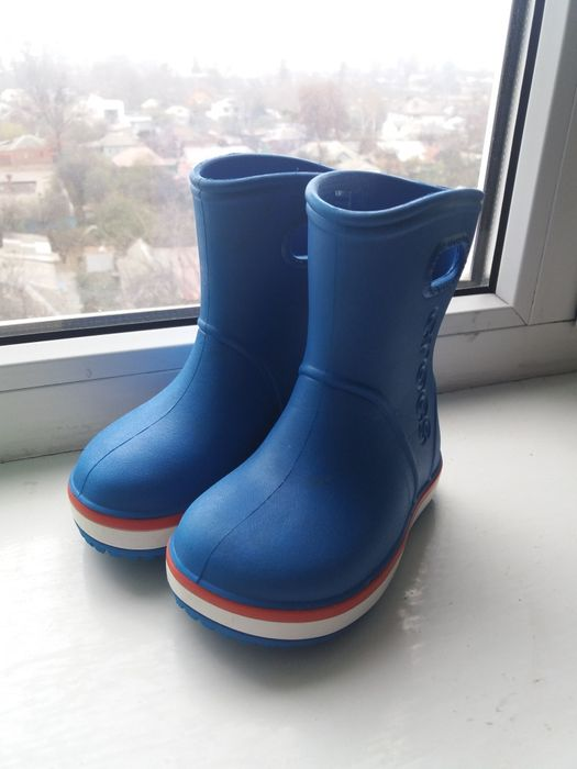 Продам сапоги Crocs (оригинал) с7 Алексеевка - изображение 1