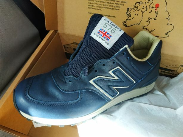 Премиум кожа. Оригинальные кроссовки New Balance M576CNN, 40 р, (7 US)