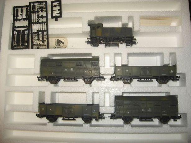 Набор железной дороги Военный поезд Lima. Железная дорога Пико 1.87