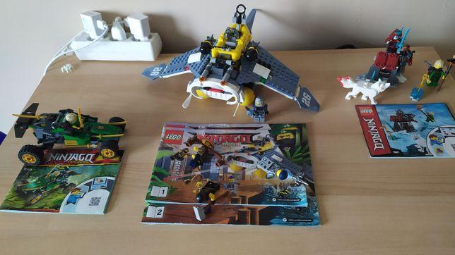 LEGO Ninjago 3zestawy