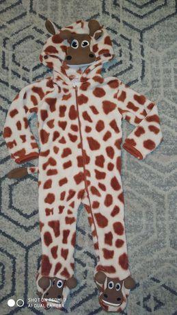Przebranie, strój, piżama Żyrafa r.86