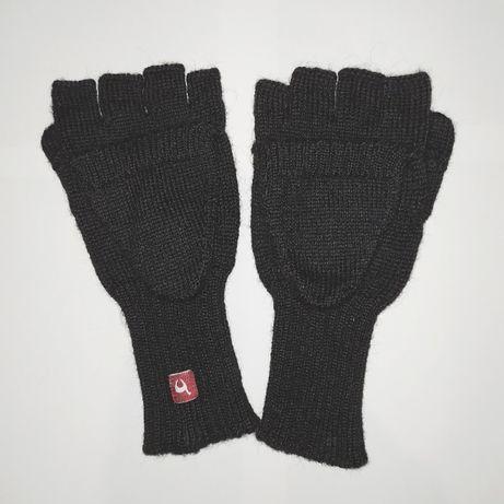 Стильные новые перчатки-рукавици из чистой шерсти альпаки, Перу, р. М