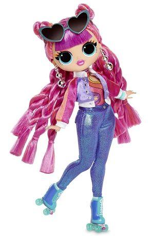 Кукла лол ролики диско скейтер лол 3 серия lol omg