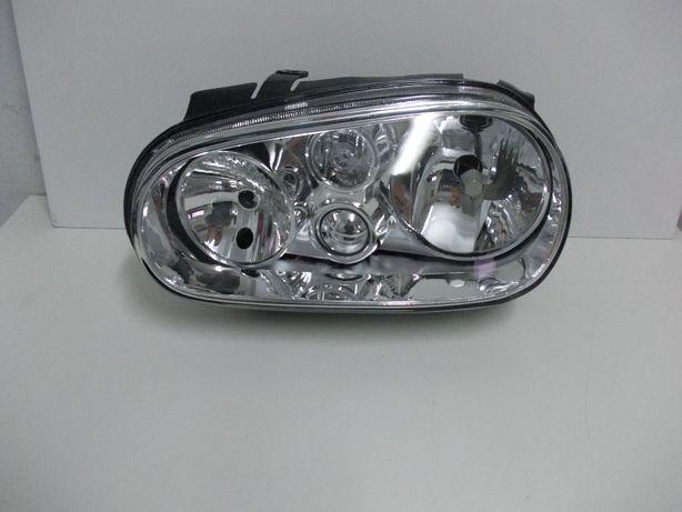 Reflektor Golf IV  4 Lewy TYC H7+H1