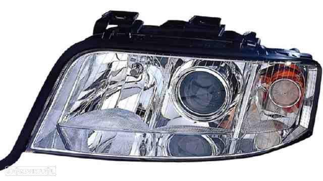 Farol Direito Eletrico Audi A6 01-04