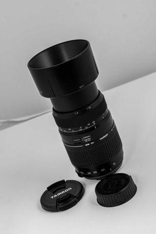 Nikon objectiva 70-300mm (105 - 460mm) com super-macro da Tamron