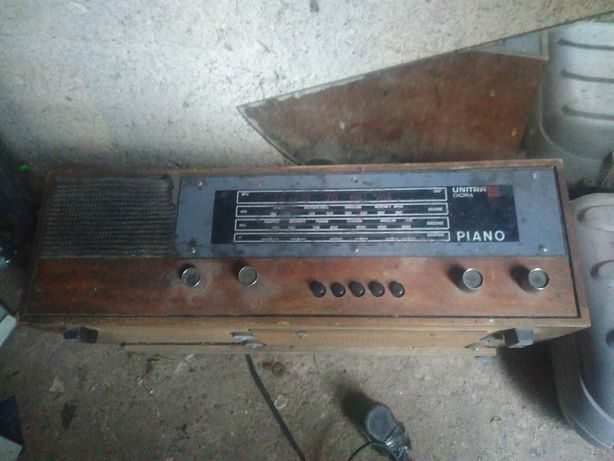Radio lampowe Piano Unitra sprawne