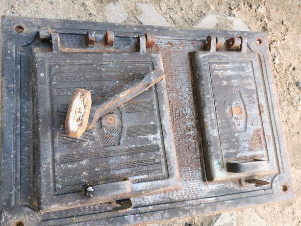 Drzwiczki do grilla wędzarni pieca