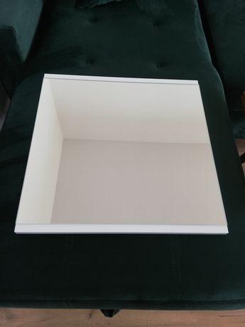 Lustro nowe 50x50, białe ramki