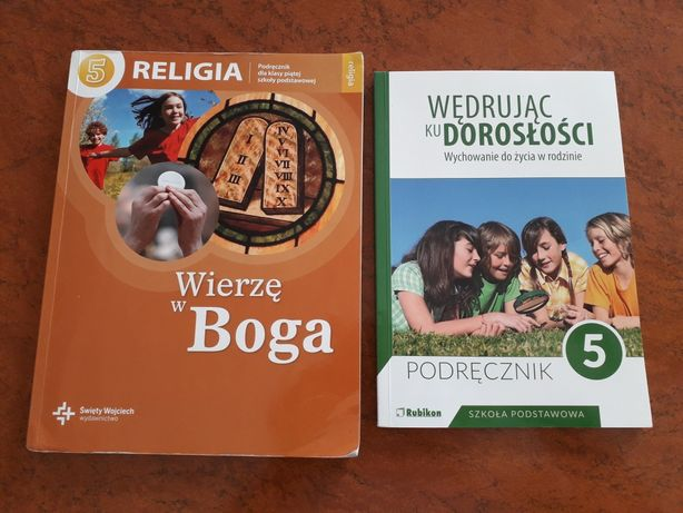Podręczniki- RELIGIA ,WDŻ kl.5 podstawowa