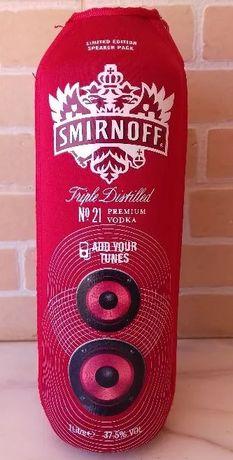 Refrigerador de garrafas com coluna de musica incorporada