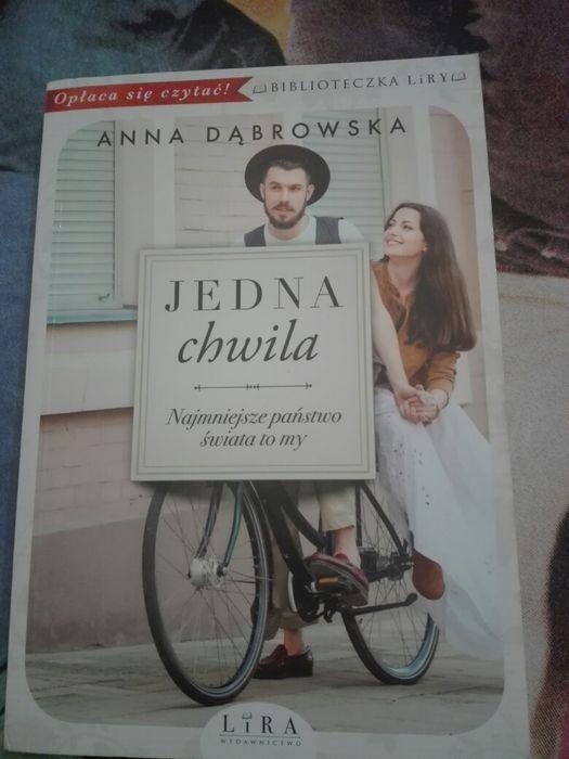 """Książka """"Jedna chwila"""" Anna Dąbrowska Bydgoszcz - image 1"""