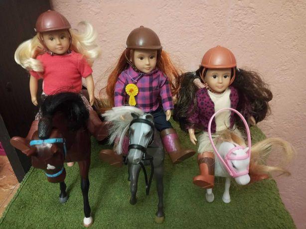 Кукла Lori наездница Battat