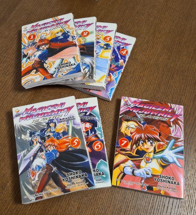 Slayers, Magiczni Wojownicy - Shoko Yoshinaka, manga tomy 1-7 Długołęka - image 1