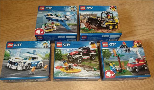 Nowe Lego City 60219, 60212, 60240, 60239, 60206 Wys 24h