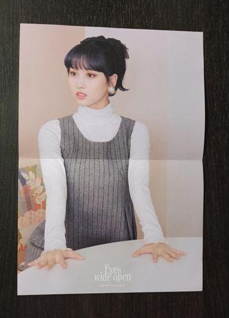 Twice Kpop K-pop Momo plakat lyrics poster ewo eyes wide open