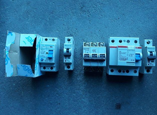 NOWA CENA!Hager, ABB, Moeller aparaty modułowe, wył. różnicowo-prądowe