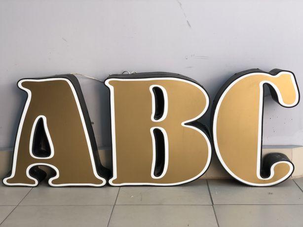 Букви Вивіска реклама АВС
