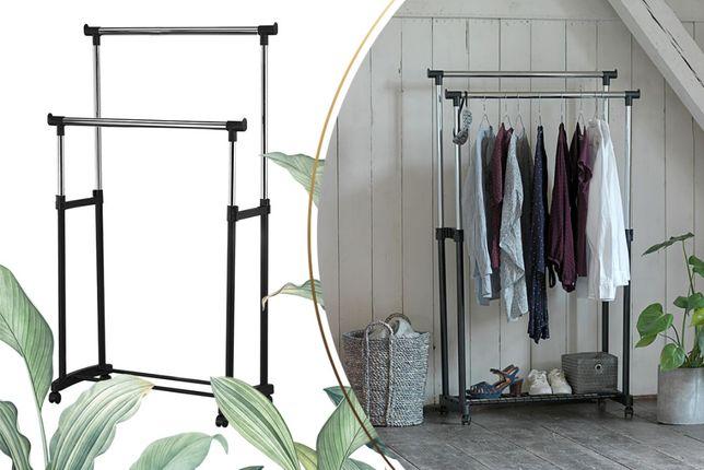 Двойная напольная стойка для одежды Double Pole вешалка Дабл Пол