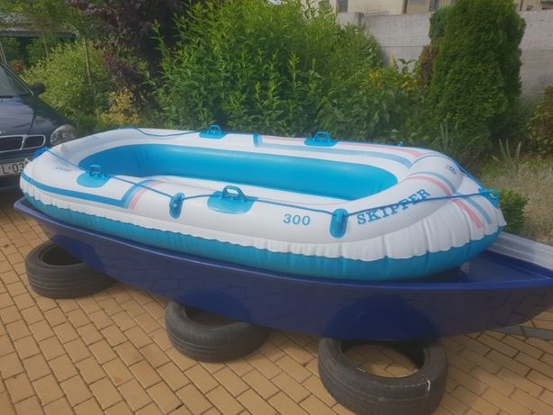 Łódka +ponton