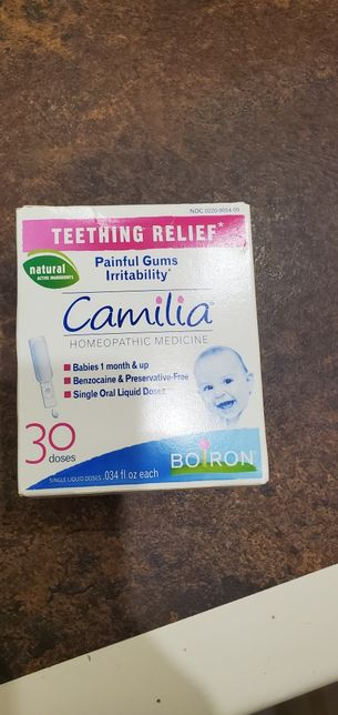 Camilia Камілія НОВА засіб для знеболення при прорізуванні зубів
