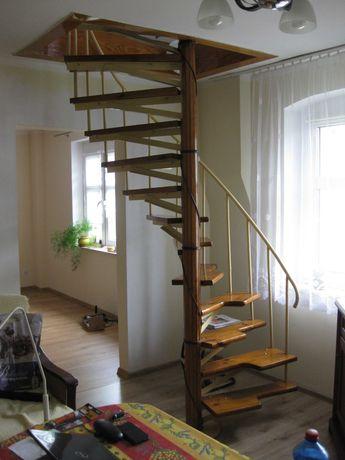 schody kręcone konstrukcja stalowa