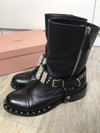 Ботинки Miu Miu демисезон