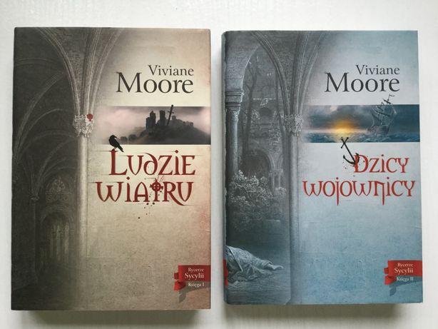 """Viviane Moore: """"Ludzie wiatru"""", """"Dzicy Wojownicy"""""""