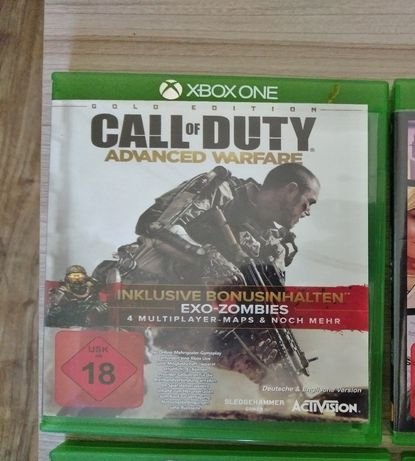 Call od Duty Advanced Warfare Gold Edition Xbox one